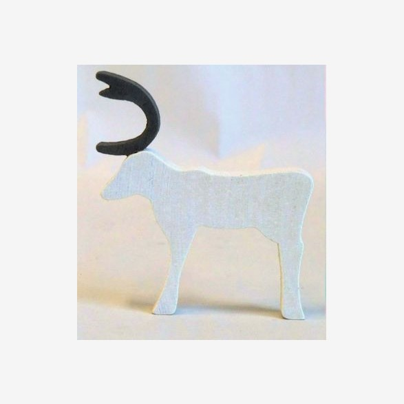 REINDEER STAND.90MM WHITE