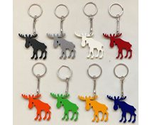 KEYRING MOOSE 44MM