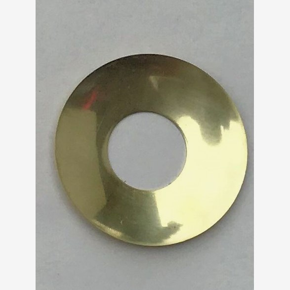 CANDLERING BRASS THIN 54MM